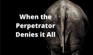When the Perpetrator Denies it All